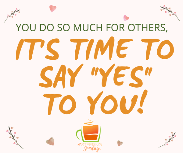 """It's Time to Say """"Yes"""" to You!"""