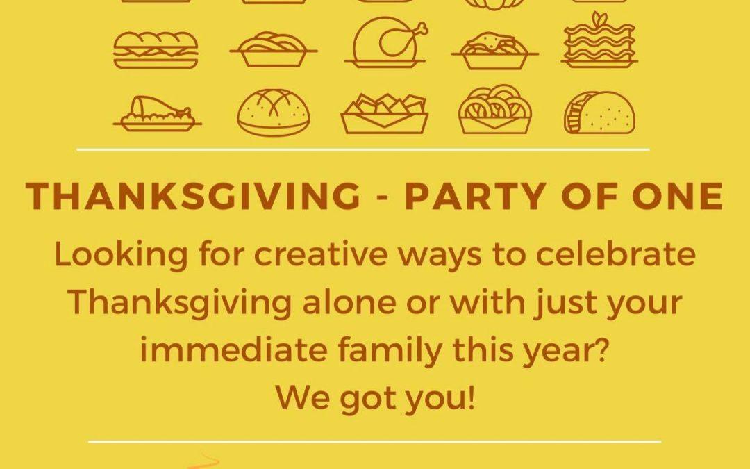 Solo Thanksgiving